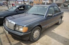 Mercedes Benz 190E 1997 Blue for sale