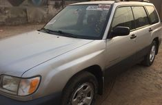 Tokunbo Subaru Forester AWD 2001 Silver for sale