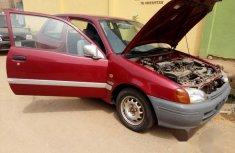 Tokunbo Toyota Starlet 2001 Red For Sale