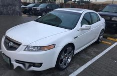 Super Clean Acura TL 2008 White for sale