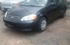 Fresh Toyota Corolla LE 2003 Black for sale