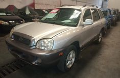 Hyundai Santa Fe 2002 Silver For Sale