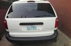 Clean Chrysler Voyager 2003 White For Sale