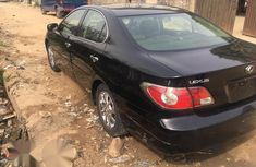 Clean Tokunbo Lexus Es300 2003 Black for sale