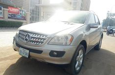 Mercedes-Benz ML 2007 Gold for sale