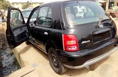 Tokunbo Nissan Micra 2002 Black For Sale