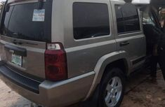 Clean Jeep Commander 2006 Gold For Sale