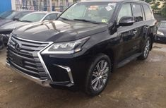 Lexus LX 2016 Black for sale