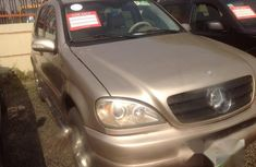 Mercedes Benz ML320 2005 Brown for sale