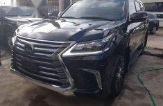 Lexus LX570 2018 Black for sale