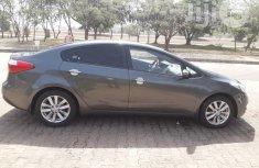 Clean Kia Cerato 2014 Black for sale