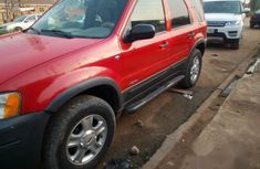 Ford Escape 2002 Red for sale