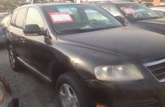 Volkswagen Touareg 2004 Black for sale