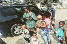 Nigerian family of 7 rescued from burning car
