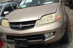 Nigerian Used Acura MDX 2001 Gold for sale