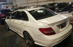 Mercedes-Benz C63 2009 White for sale