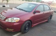 A 2003 Toyota corolla sport (red) for sale
