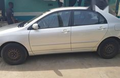 Tokunbo Toyota Corolla 2003 Silver for sale
