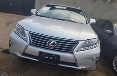Lexus RX 350 2013 Silver for sale