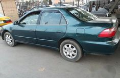 Clean Registered Honda Accord 2001 Green for sale