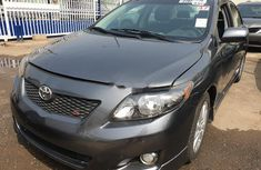 Toyota Corolla 2010 Petrol Automatic Grey/Silver for sale
