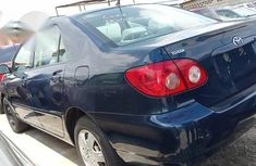 Tokunbo Toyota Corolla 2007 Blue for sale