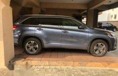 Toyota Highlander 2018 Blue for sale