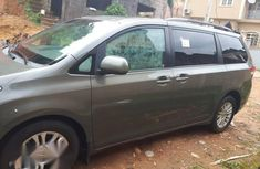 Toyota Sienna 2012 Grayfor sale