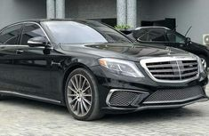 Mercedes Benz S65 2015 Black for sale