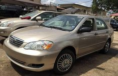 Clean Toyota Corolla CE 2005 Gold for sale