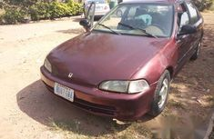 Used Honda Accord 1992 Red for sale