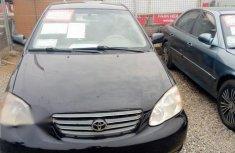 Toyota Corolla 2003 Black for sale