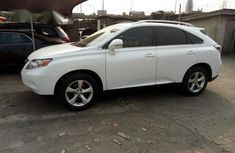 Lexus RX350 2010 White for sale