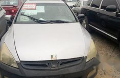 Honda Accord V6 2003 Silver for sale