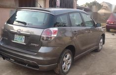 Neatly Used Toyota Matrix Awd 2005 Gray for sale