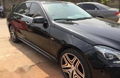 Mercedes Benz E63 2014 Black for sale