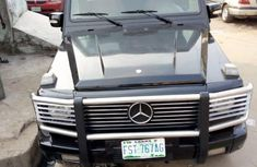 Mercedes Benz Gwagon 2003 Black For Sale