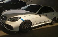 Mercedes Benz E63 2013 White for sale