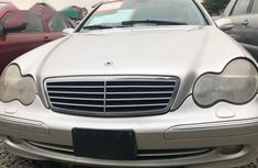 Clean Mercedes-Benz C320 2002 Silver for sale