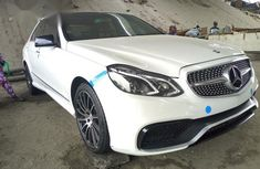 Mercedes-Benz E63 2014 White for sale