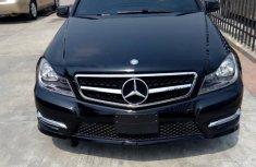 Clean Cheap Mercedes-Benz C250 2014 Black for sale