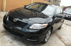 Tokunbo Toyota Corolla 2009 Black for sale