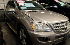 Mercedes-Benz ML350 2008 Gold for sale