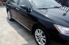 Good Deal Lexus Es350 2010 Black for sale