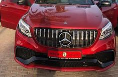 Mercedes-Benz GLE-Class 2016 Red for sale