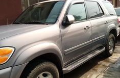 Toyota Sequoia 2002 Gray for sale