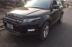 Range Rover Evogue 2014 Black for sale