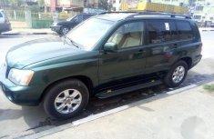 Toyota Highlander 2003 Green for sale