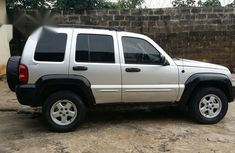 Jeep Liberty 2005 Silver for sale