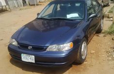 Registered Toyota Corolla 2000 Blue for sale